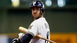 Ryan Braun took a 65-game suspension for his steroid use.