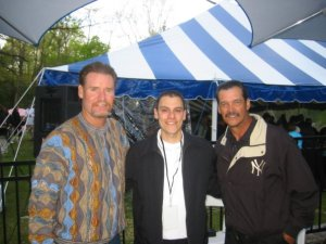 With Boggs & Guidry at the event.