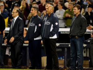 Torre, Posada, Rivera & Martinez Wait To Walk Jeter into Retirement.