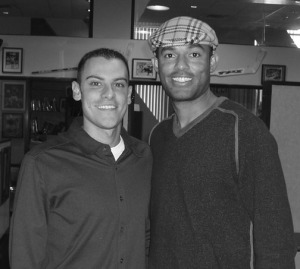 With Yankees Legend, Mariano Rivera.