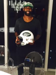 Revis Returns To New York.